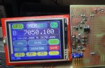 Colour TFT display with Touch controlled VFO BFO