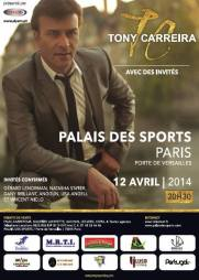 Tony Carreira - Palais des sports de Paris