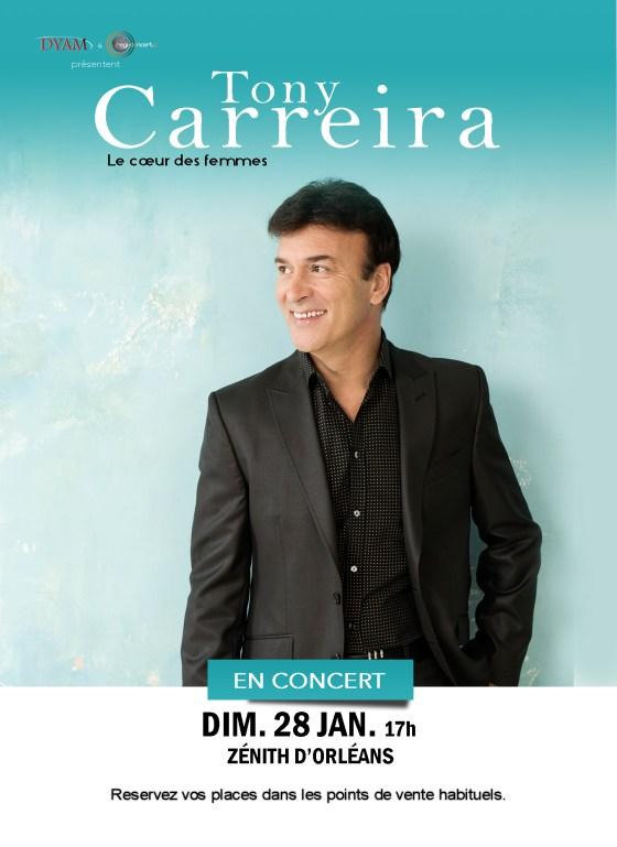 Tony Carreira - Orléans