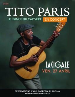 Tito Paris La Cigale - 30 x 40 cm