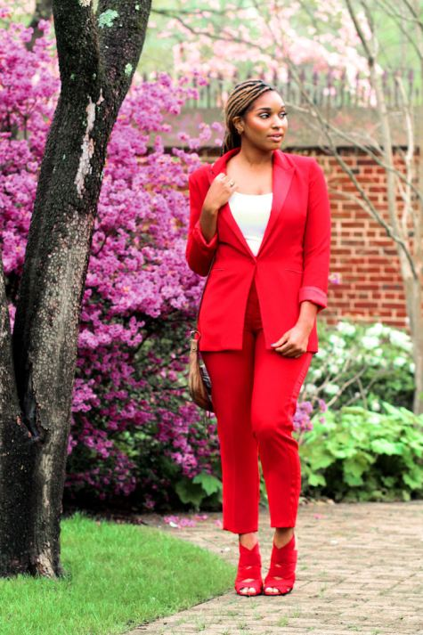 Dyandra-Raye-Red-Suit-Monochrome