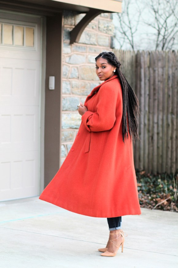 Dyandra-Raye-Orange-Wool-Coat