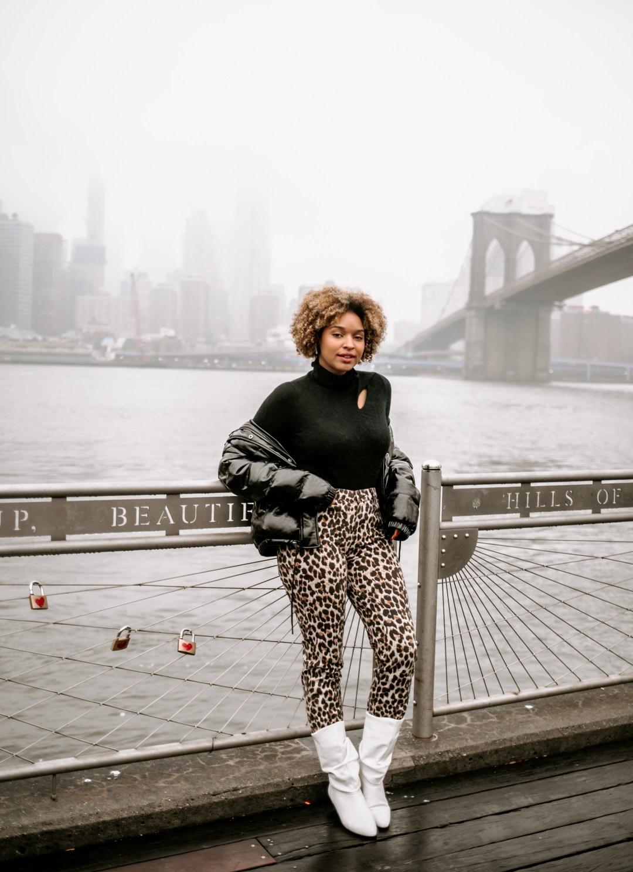 Brooklyn Bridge Fashion Photohoot