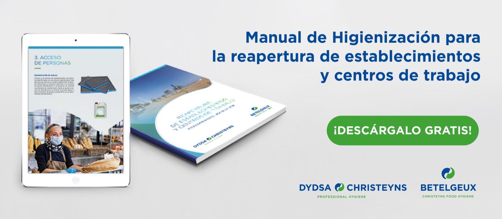 manual de higiene para la reapertura de establecimientos y centros de trabajo