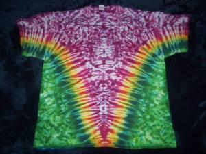 tie dye, tie-die, tie-dyed, tie dyed, shirt , pink, green