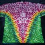 tie dye, tie-dye, tie-dyed, tie dyed, shirt , pink, green