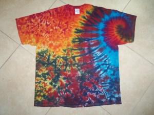 tie dye, tie-die, tie-dyed, tie dyed, shirt, swirl