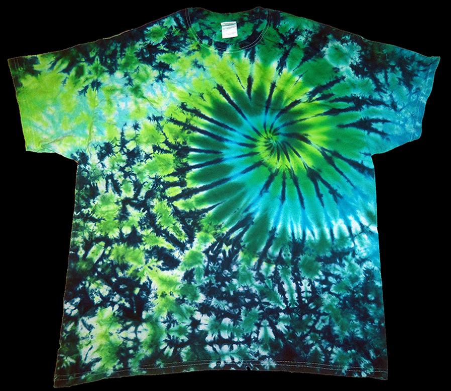 Swirl Tie Dye Shirts Dyemasters