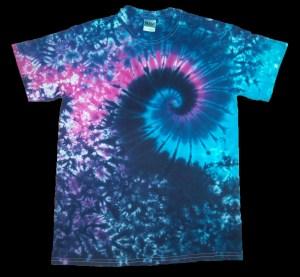 tie dye, tie-dye, tie dyed, tie-dyed, shirt , purple. pink, swirl