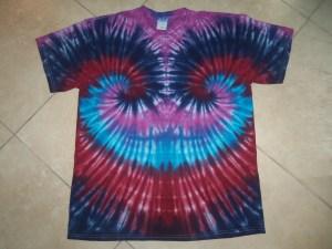 tie dye, tie-die, tie-dyed, tie dyed, shirt , swirl, pink