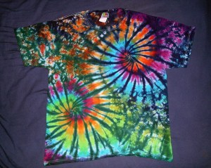 tie dye, tie-dye, tie-dyed, tie dyed, shirt, swirl