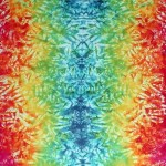 Light Rainbow Marble Faces tie dye