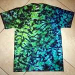 tie dye, tie-dye, tie dyed, tie-dyed, shirt, marble, blue, green