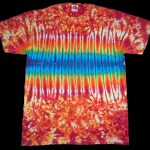tie dye, tie-dye, tie dyed, tie-dyed, shirt, orange, zipper