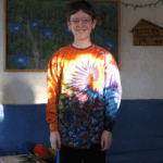 long sleeve tie dye
