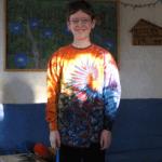 long sleeve tie dye