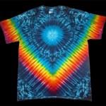 tie dye, tie-dye, tie dyed, tie-dyed,marble, vee, shirt, rainbow