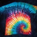tie dye, tie-dye, tie dyed, tie-dyed, rainbow, swirl, shirt