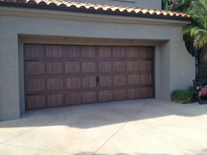 Accents Garage Door Carriage Solid