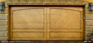 RHD Sun Rise Wood Door