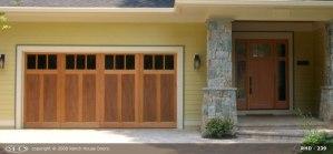 RHD wood Garage Door 242