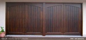RHD wood Garage Door 246