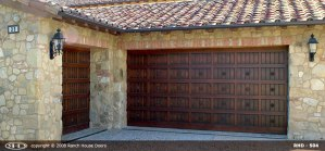 Spanish Style Wood Door Rosettes