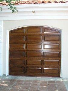 Hemlock Raised Panel Wood Door