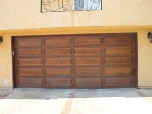 Wood Raised Panel w/End Bolts