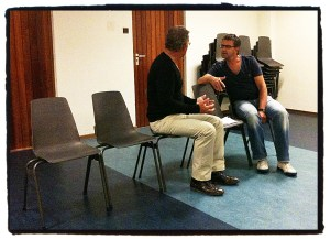 Cloaca - Repetitie Pieter en Tom in gesprek