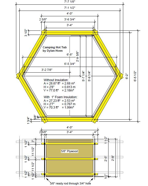 Hot Tub Plans Concrete Habitual10lvd