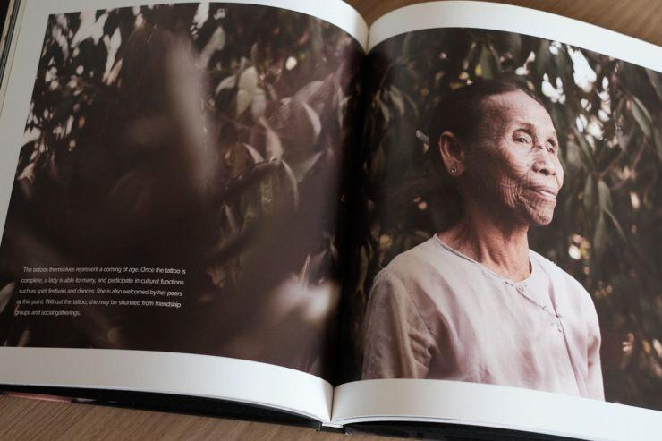 Lai Tu Chin Tattooed Women Hardcover - Portrait Page