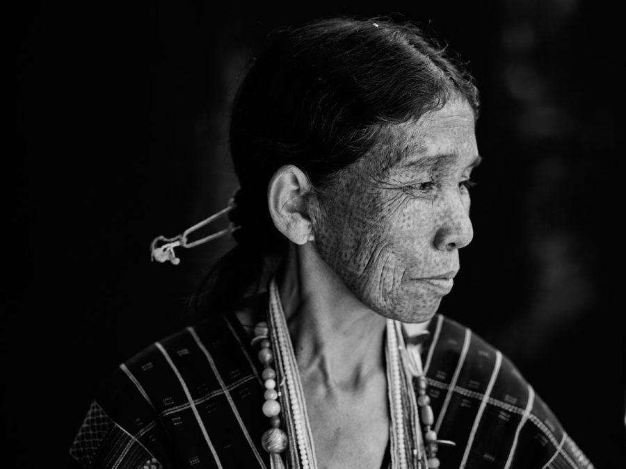 Ng'hang Woman with Facial Tattoo