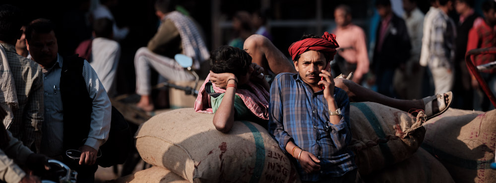 Delivery Boys, Chandni Chowk, Old Delhi