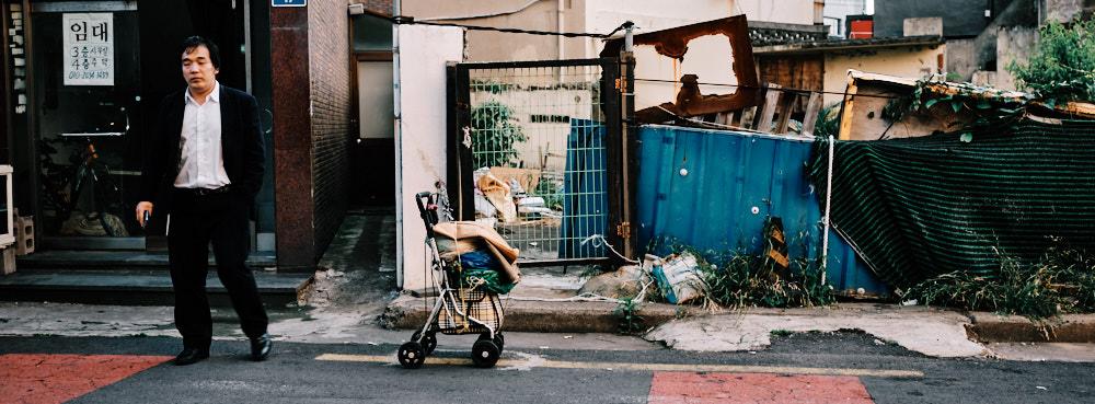 Street scene in Jeju City