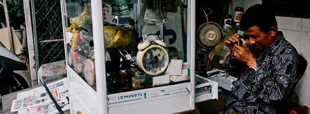 Hanoi, Vietnam - Watch Repairman