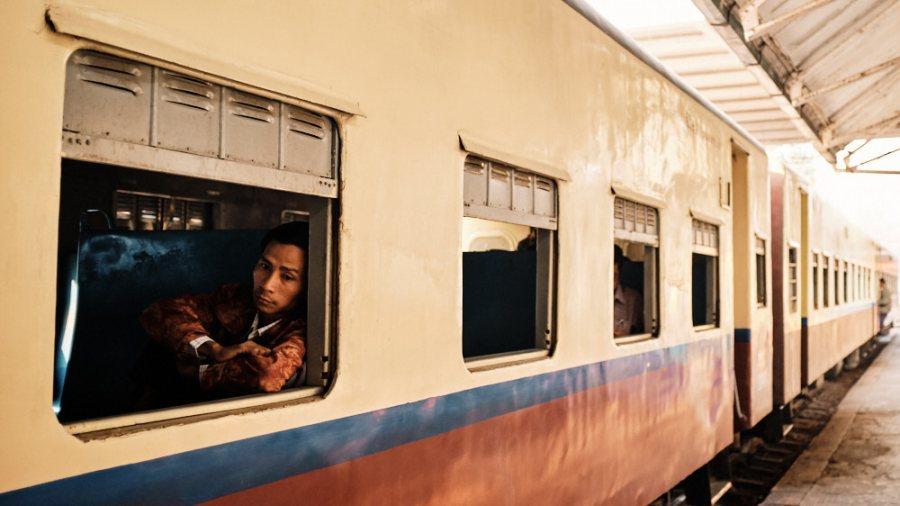 Waiting for Departure - Yangon Circular Line