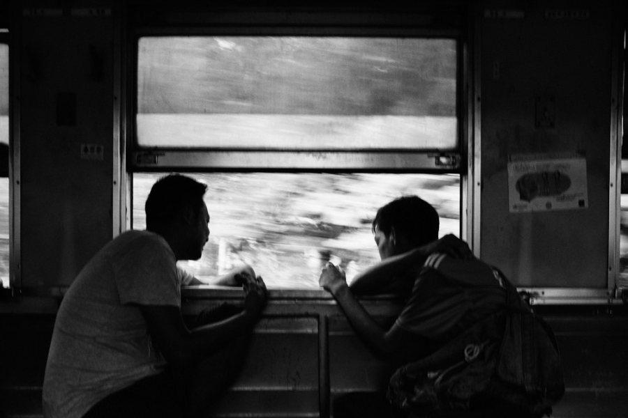 Yangon Circular Train Bumpy Ride