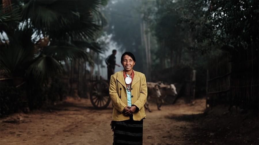 Makuri Woman, Myanmar