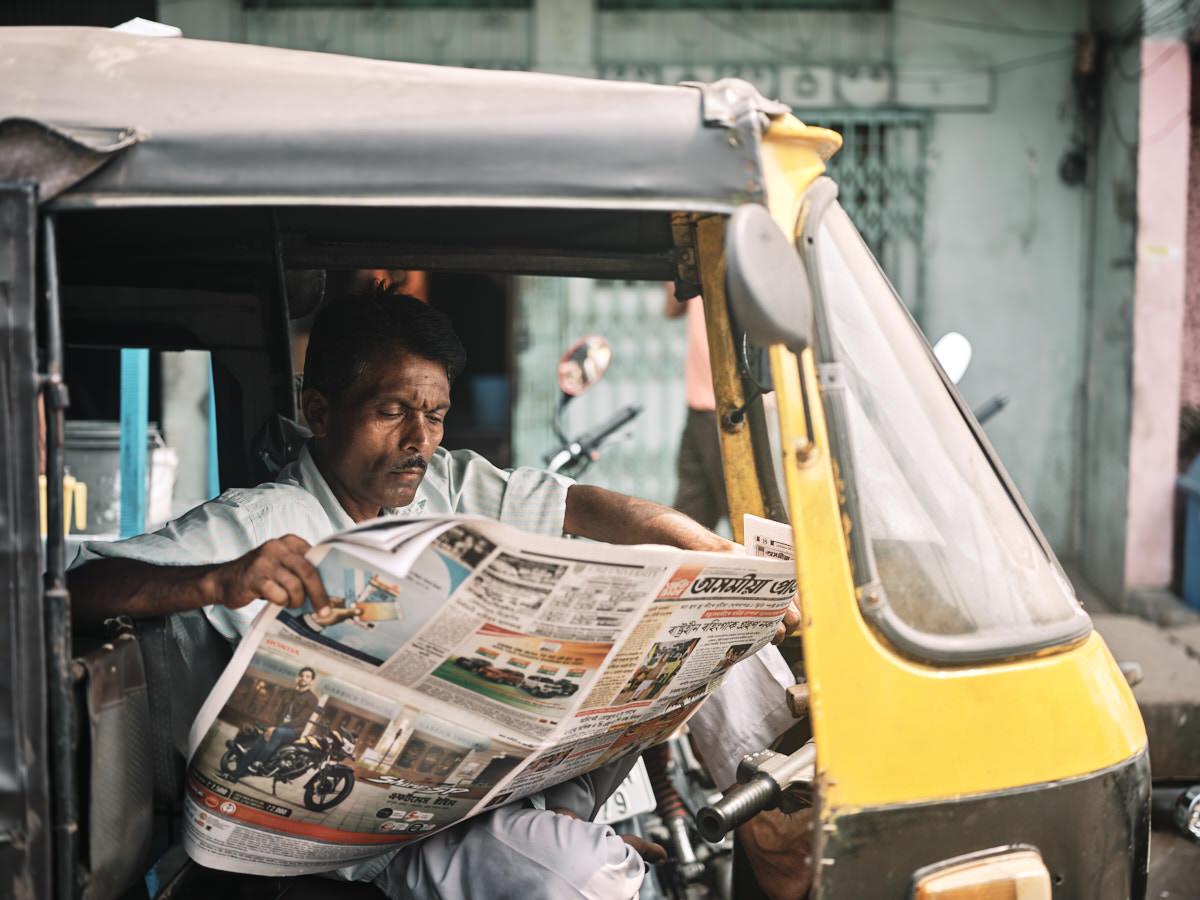 Auto Rickshaw Driver - Guwahati, India