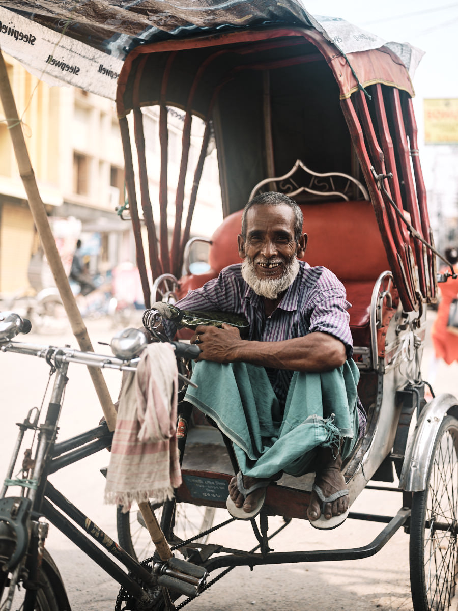 Rickshaw Driver - Guwahati, India