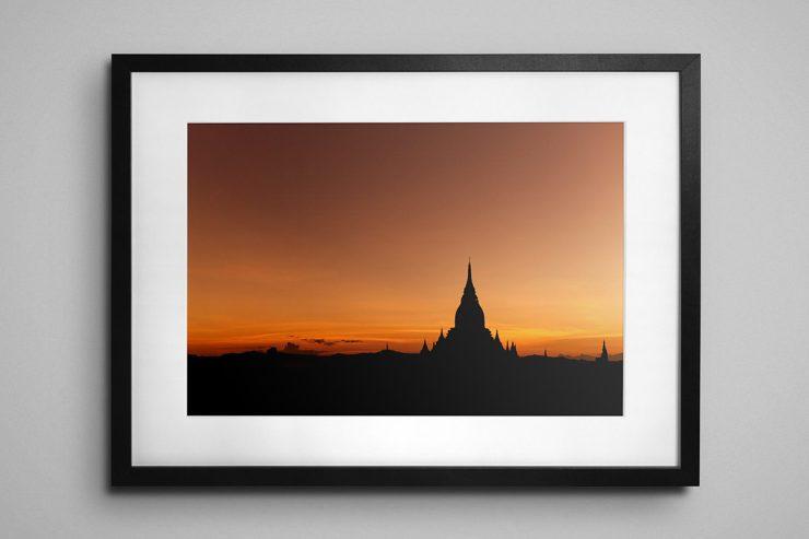Bagan Sunrise, Myanmar