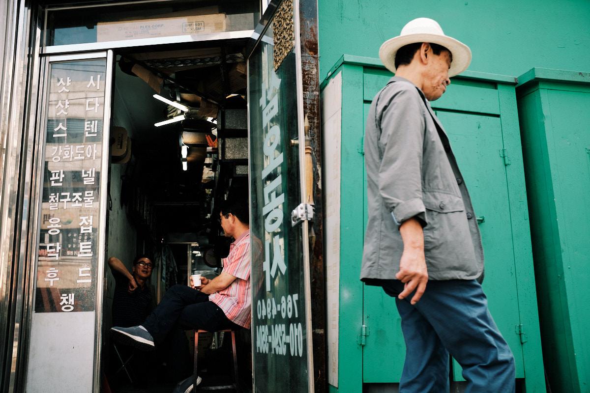 Seoul Street Photography - Jongno-3-ga