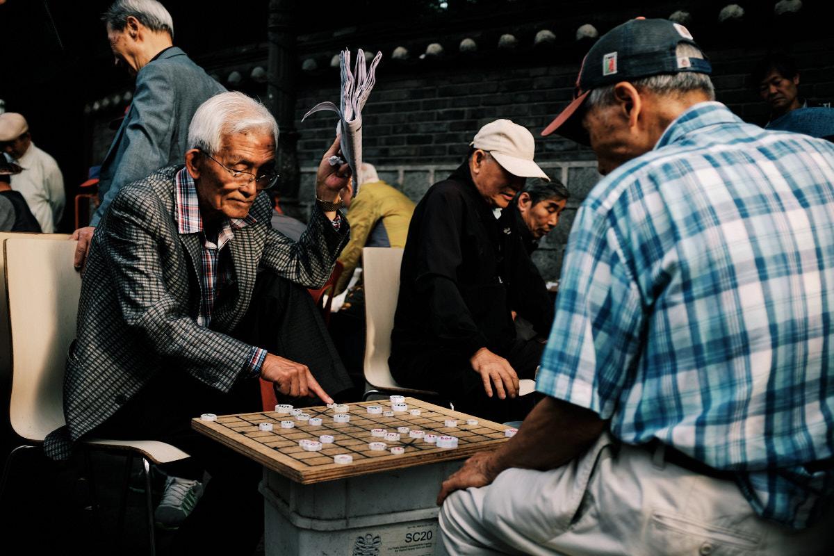 Seoul Street Photography - Jongno-3-ga Gaming
