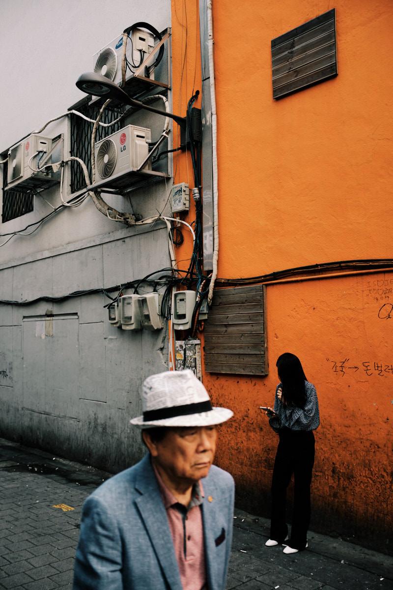 Seoul Street Photography - Social Divide