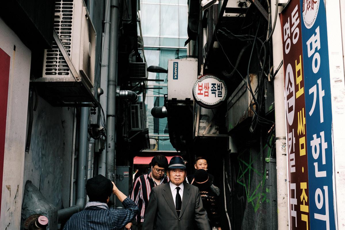 Seoul Street Photography - Jongno-3-ga Alley Boss