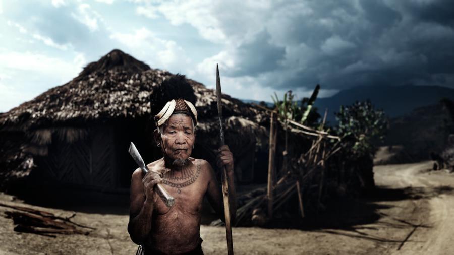 Portrait of Naraen - Tanshan Naga Warrior