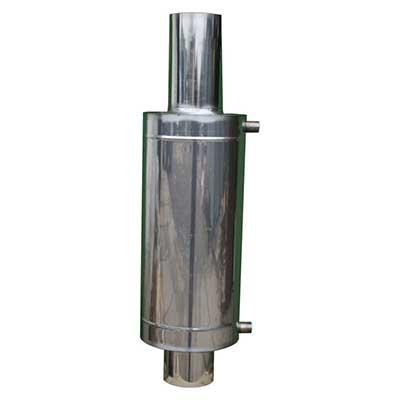 Бак теплообменник 12 л для 110-120 мм трубы