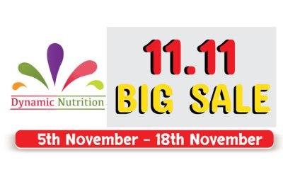Dynamic Nutrition 11.11 BIG Sales!