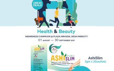 AshiSlim Exclusive Deal! Only Available @ Ascen Plus Pharmacy (01 Aug – 30 Sep 2019)